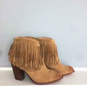 Frye Lether Booties